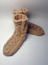 В'язані шкарпетки (40% мохер, 60% акрил)