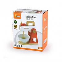 """Деревянная детская игрушка Viga Toys """"Кухонный миксер"""" (50235), фото 2"""