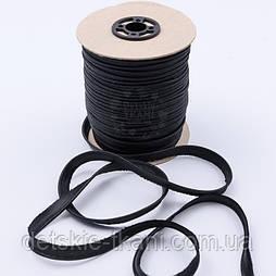 Кант из атласа, цвет чёрный