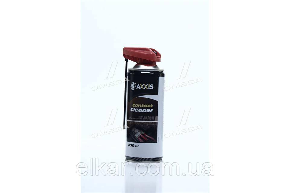 """Очищувая контактів 450мл """"AXXIS"""""""