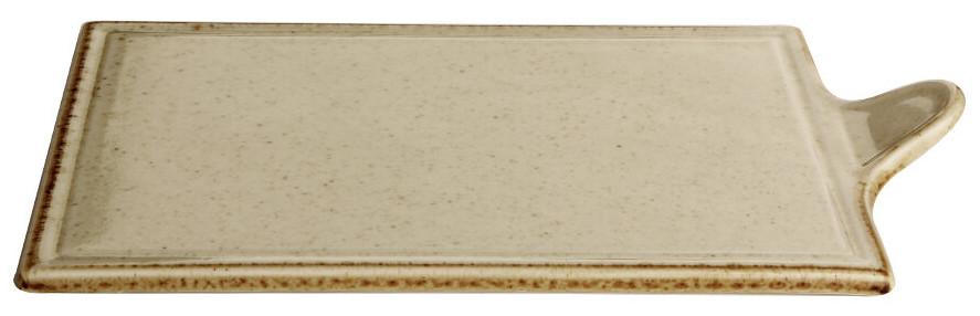 Блюдо прямоугольное для подачи - 27 х 21 см, Желтое (Porland) Seasons Yellow