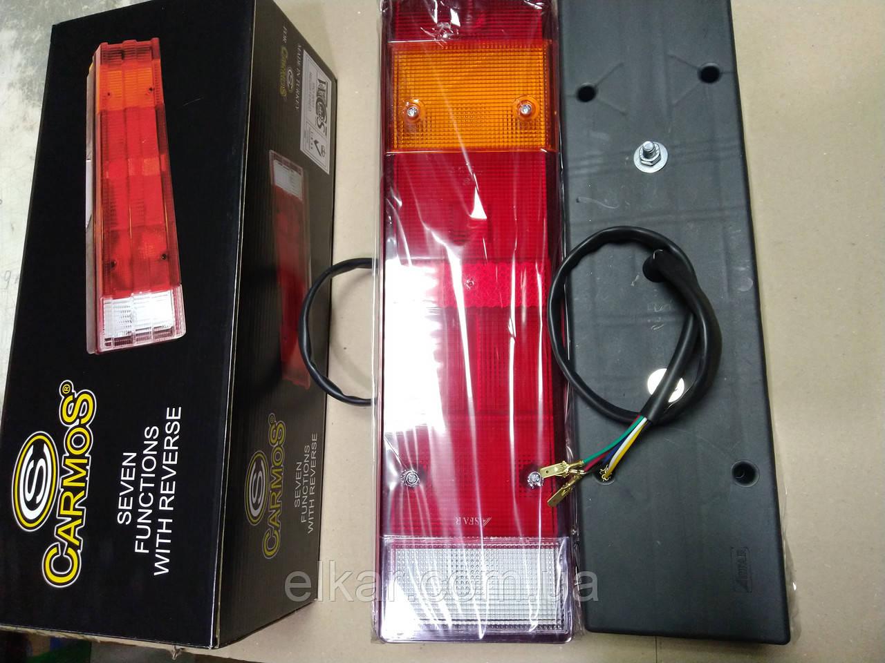 Ліхтар задній (правий та лівий) з кабелем  DAF (465х130х83) 0030 / 20013
