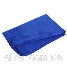 Салфетка мікрофібра автомобільна синя