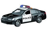 Машинка инерционная 1:16 Wenyi Полиция со звуком и светом, фото 1
