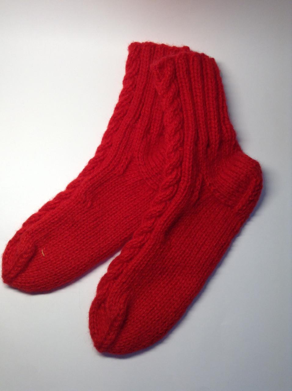 Носки вязаные (100% акрил)
