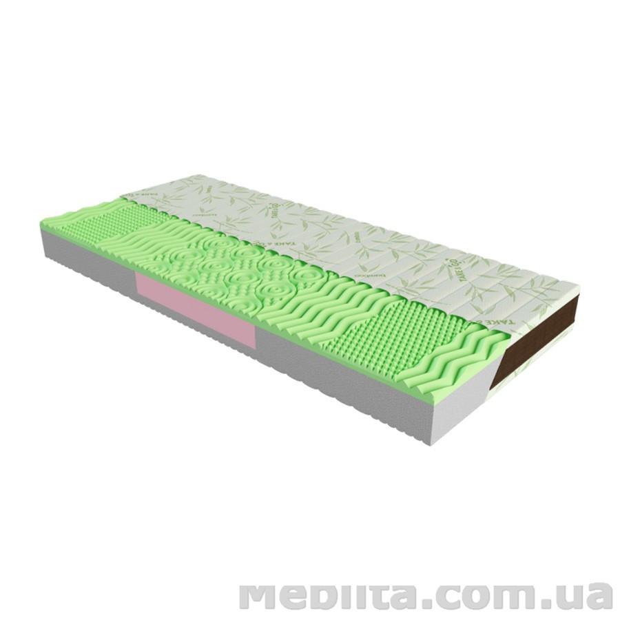 Ортопедический матрас Take&Go Bamboo NEO GREEN 140х190 ЕММ