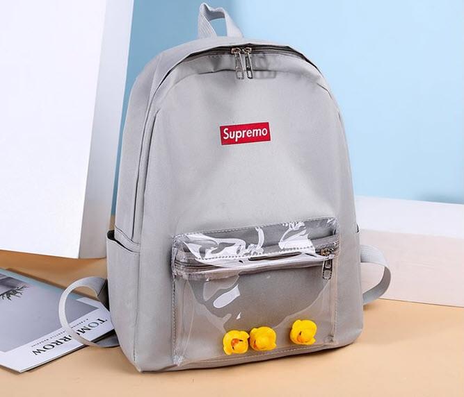 Стильні жіночі рюкзаки з качечками