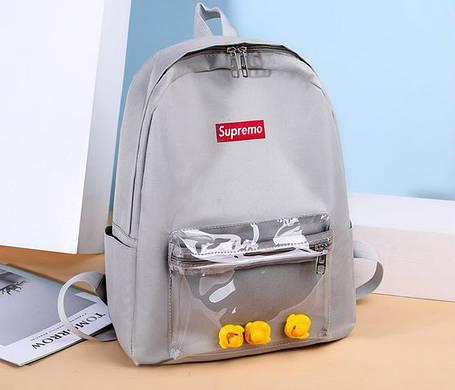 Стильні жіночі рюкзаки з качечками, фото 2
