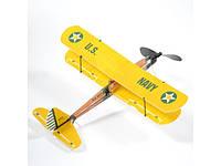 Самолет (биплан) резиномоторный ZT Model Aviator 430мм