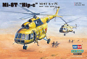 "Mи-8T ""Hip-c"". Сборная пластиковая модель. 1/72 HOBBY BOSS 87221"