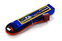 Аккумулятор для страйкбола Giant Power (Dinogy) Li-Pol 7.4V 2S 1300mAh 25C 16х20х103мм T-Plug