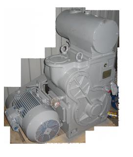 Насос АВЗ-63Д вакуумный золотниковый