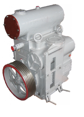Насос АВЗ-180 вакуумный золотниковый