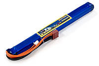 Аккумулятор для страйкбола Giant Power Li-Pol 11.1V 3S 1000mAh 25C 15х15х185мм T-Plug