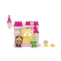 Игровой набор DISNEY DOORABLES - КРАСАВИЦА И ЧУДОВИЩЕ (2 героя, домик, аксессуар), 69411, фото 1