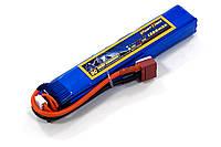 Аккумулятор для страйкбола Giant Power (Dinogy) Li-Pol 11.1V 3S 1300mAh 25C 18х21х130мм T-Plug, фото 1