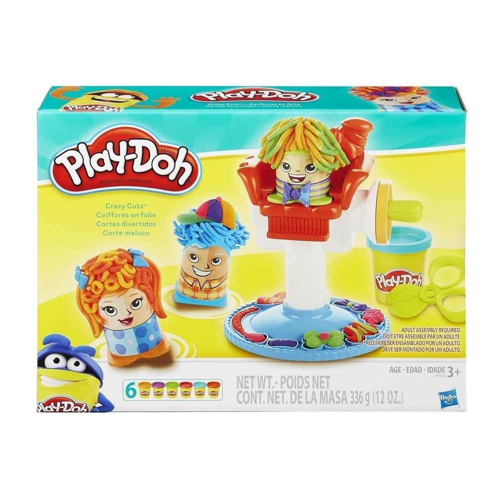 Ігровий набір Play-Doh Божевільні зачіски (B1155)