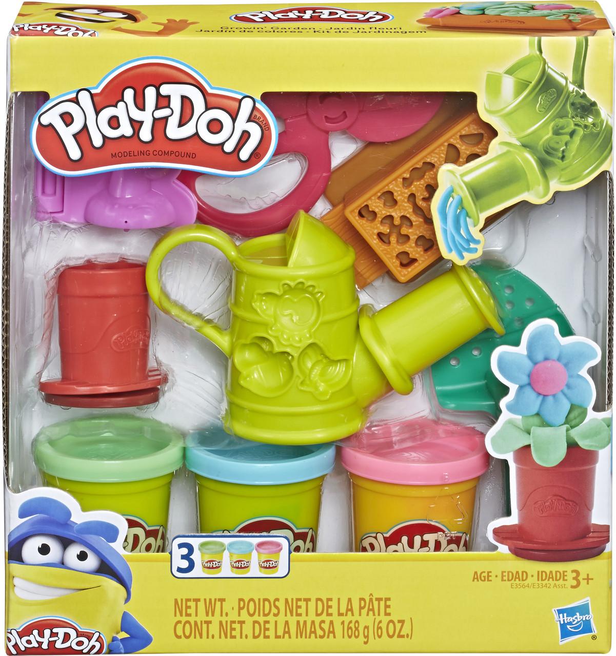 Игровой набор Hasbro Play-Doh Садовые инструменты (E3342-E3564)