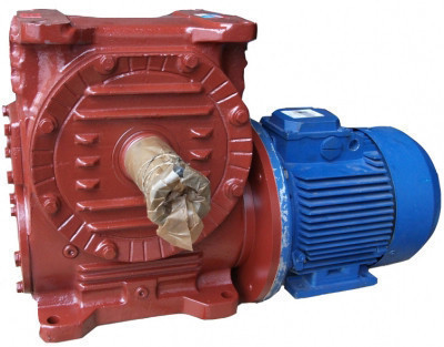 Мотор-редуктор МЧ-100-56-52-1-У3 Червячный сборки  51,52,53,56, 56 об/мин выходного вала Украина  цена