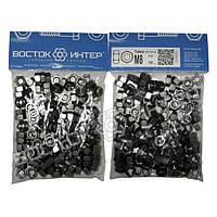 Гайка М8 DIN 934 6.0 шестигранная без покрытия — 150 шт/упаковка