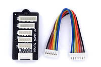 Балансировочная плата SkyRC для 2-6S Li-Pol с коннектором HP/PQ (SK-600016-03)