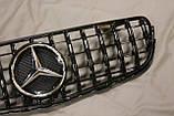 Решетка радиатора Mercedes GLC стиль Panamericana GTC, фото 3