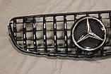 Решетка радиатора Mercedes GLC стиль Panamericana GTC, фото 2