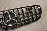 Решетка радиатора Mercedes GLC стиль Panamericana GTC, фото 6