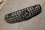 Решетка радиатора Mercedes GLC стиль Panamericana GTC, фото 5