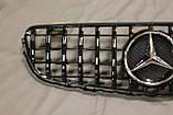 Решетка радиатора Mercedes GLC стиль Panamericana GTC, фото 8