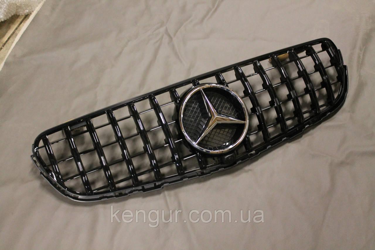 Решетка радиатора Mercedes GLC стиль Panamericana GTC