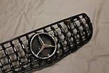 Решетка радиатора Mercedes GLC стиль Panamericana GTC, фото 7