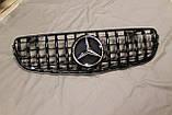 Решетка радиатора Mercedes GLC стиль Panamericana GTC, фото 10