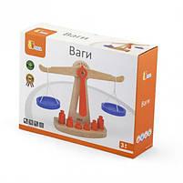"""Детский деревянный игровой набор Viga Toys """"Весы"""" (50660), фото 2"""