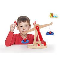 """Детский деревянный игровой набор Viga Toys """"Весы"""" (50660), фото 4"""