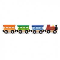 """Детский деревянный набор к железной дороге Viga Toys """"Поезд"""" (50819)"""