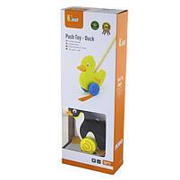 """Детская деревянная игрушка-каталка Viga Toys """"Пингвин"""" (50962), фото 2"""