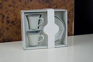 Набір кавових чашок з блюдцями