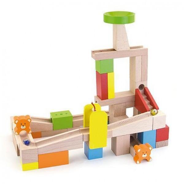 """Детский деревянный набор Viga Toys """"Занимательные горки"""" (51619)"""