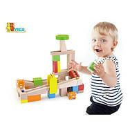 """Детский деревянный набор Viga Toys """"Занимательные горки"""" (51619), фото 3"""
