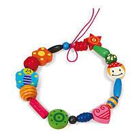 """Детский набор украшений Viga Toys """"Деревянные бусинки"""" (56002), фото 2"""