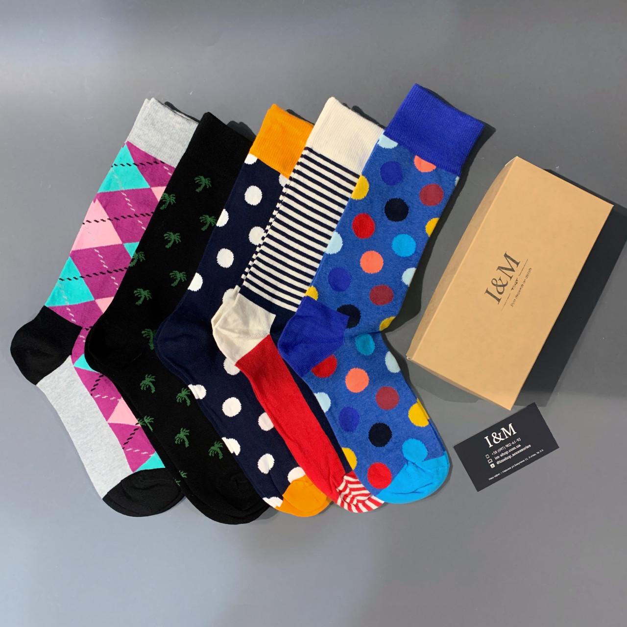 Набор носков I&M Craft из 5-ти пар (070297)