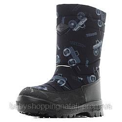 Зимние сапоги Kuoma, 120303-0371 Путкиварси Монстр, черный, 30 (19.5 см), 30