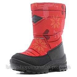 Зимние сапоги на шерстяной подкладке Kuoma, 130304-0458 Путкиварси Олень, красный, 23 (15 см), 23