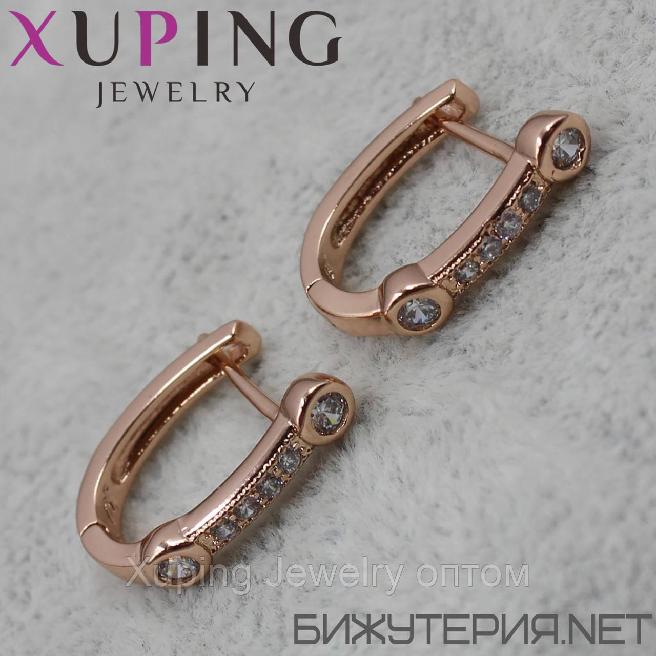 Серьги Xuping медицинское золото 18K Gold - 1029326567