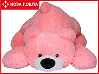Плюшевый медведь 100 см розовый, фото 1