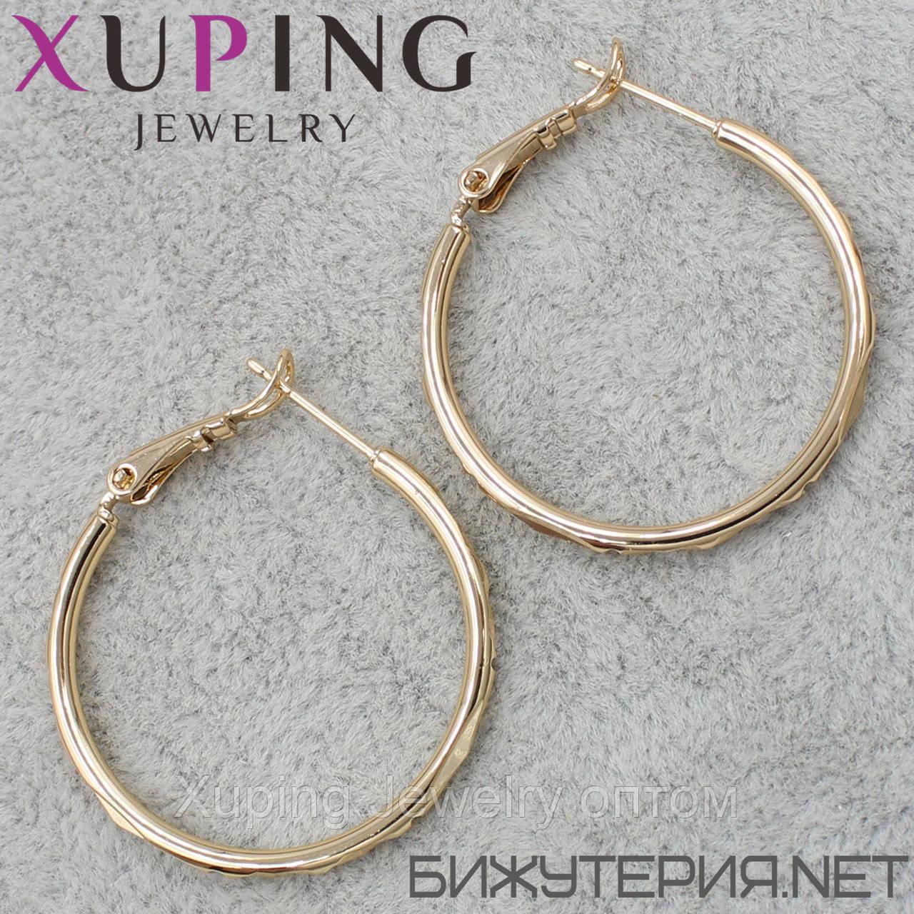 Серьги Xuping медицинское золото 18K Gold -1032912826