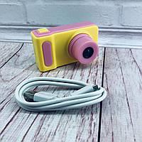 Детский фотоаппарат с экраном Smart Kids Camera V7, цифровой фотоаппарат для детей, фотоаппарат с играми, фото 1