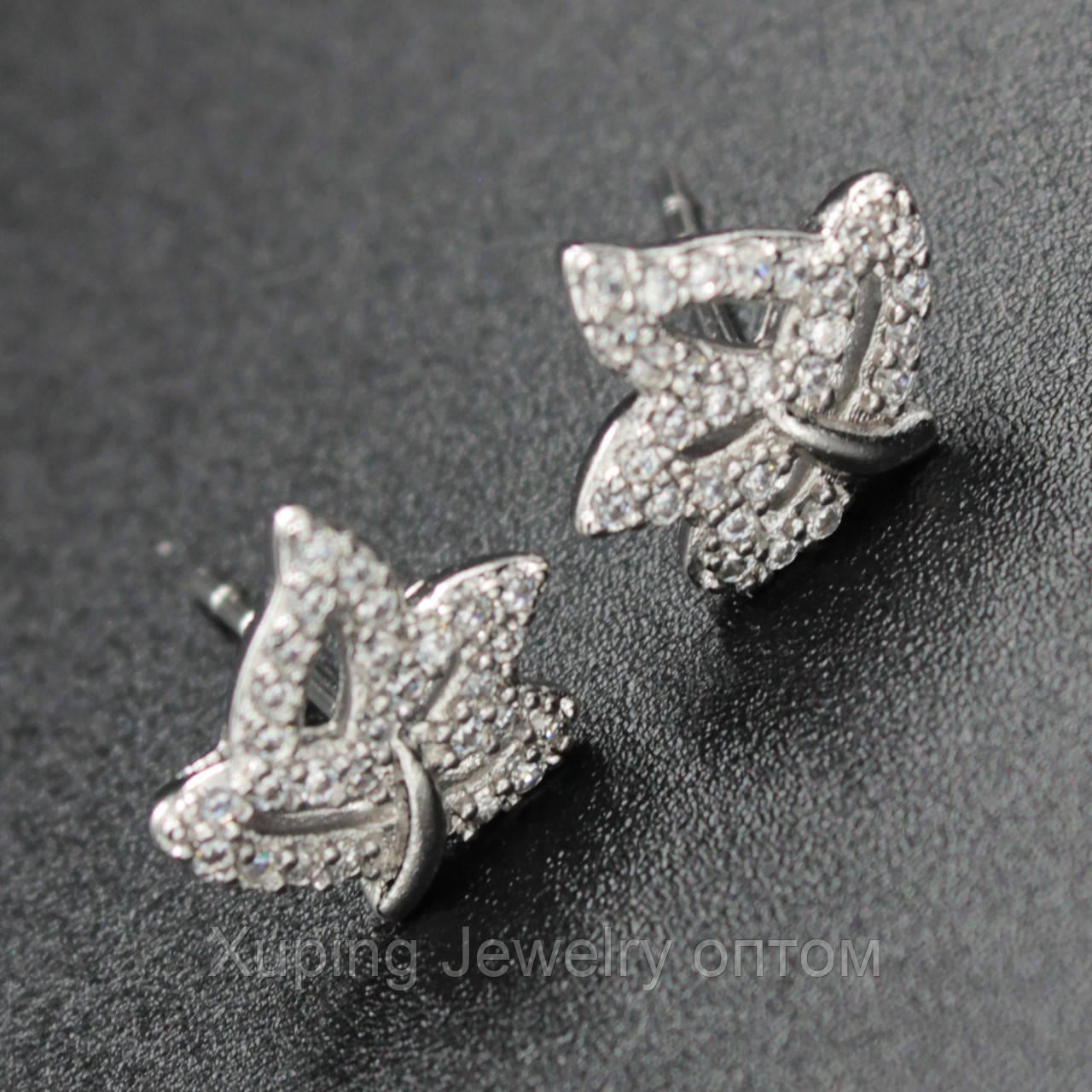 "Серьги женские ""Naemi"" Xuping Jewelry (позолота)."