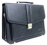 Мужской портфель из эко кожи Verto A13A1 синий, фото 1